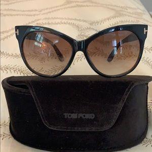 Tom Ford Saskia Cat Eye Sunglasses